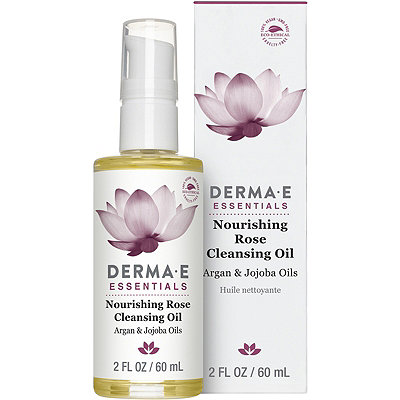 Derma E Nourishing Rose Cleansing Oil, Argan & Jojoba Oils