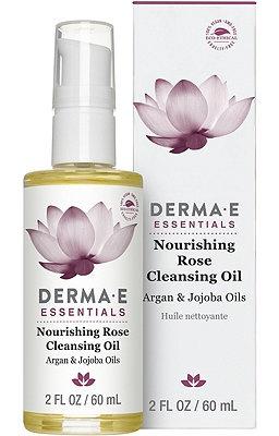 Derma E Nourishing Rose Cleansing Oil, Argan & Jojoba Oils