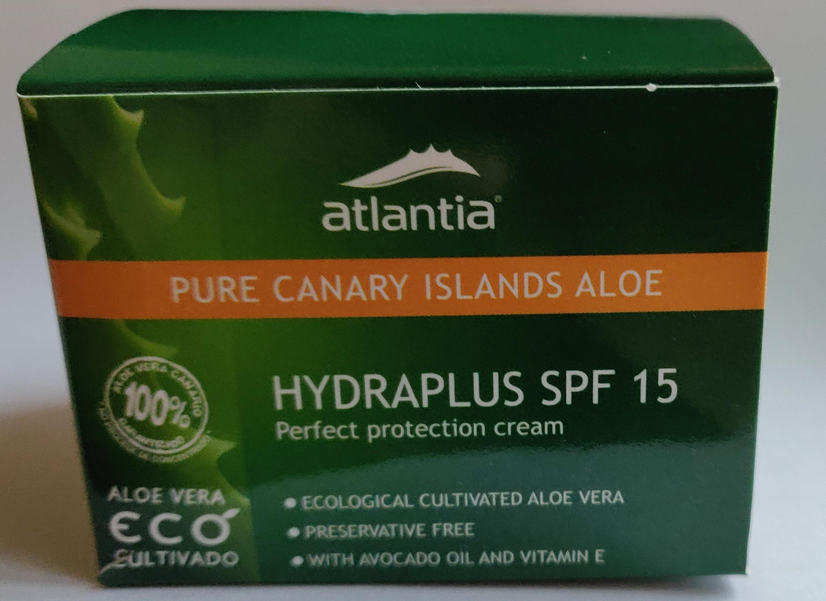 Atlantia Hydraplus Spf 15 Perfect Protection Cream