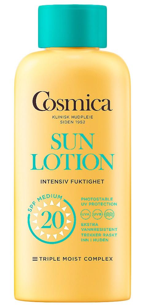 Cosmica Sun Lotion Intensive Moisture SPF 20