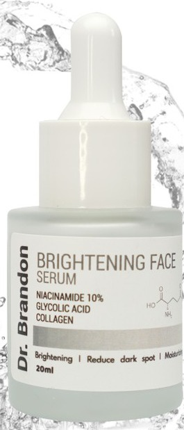 Dr. Brandon White Expert Clinical Brightening Face Serum Niacinamide 10%+Glycolic Acid+Collagen