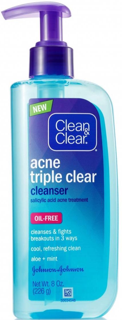 Clean & Clear Acne Triple Clear Cleanser