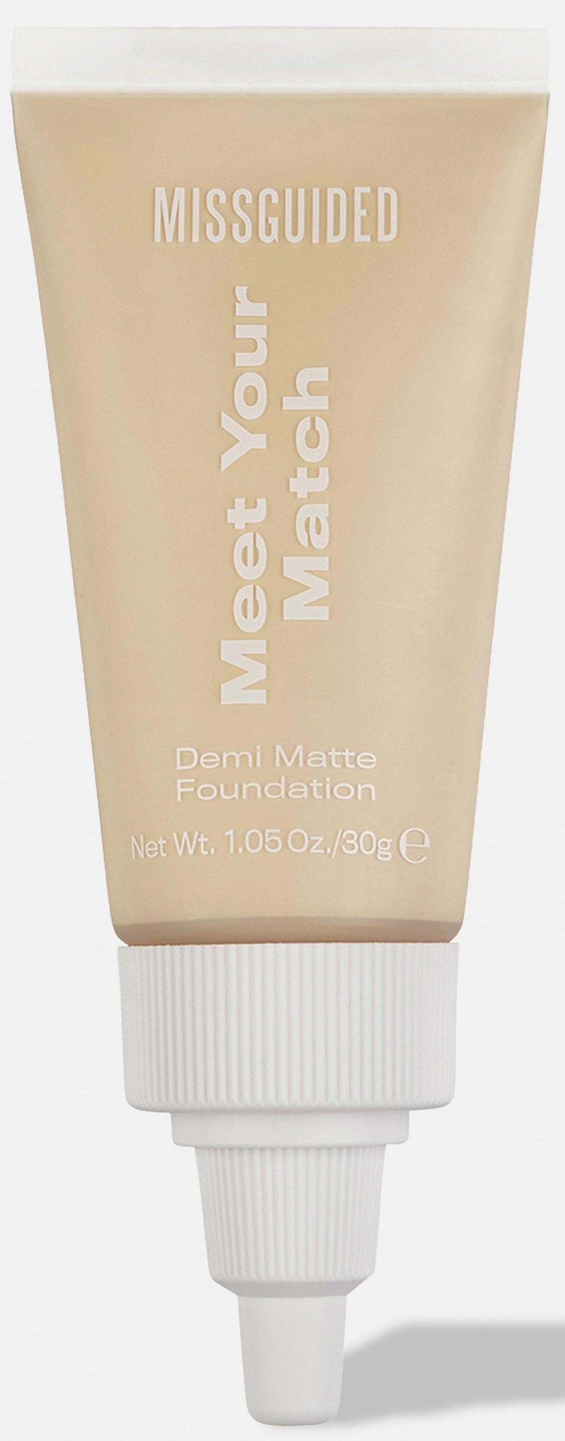 Miss Guided Meet Your Match Demi-Matte Foundation