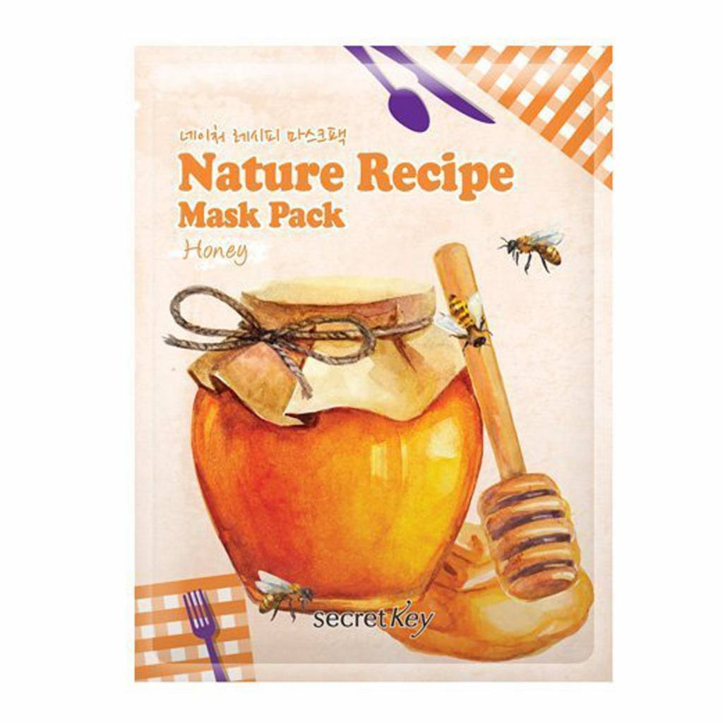 Secret Key Nature Recipe Mask Pack (Honey)