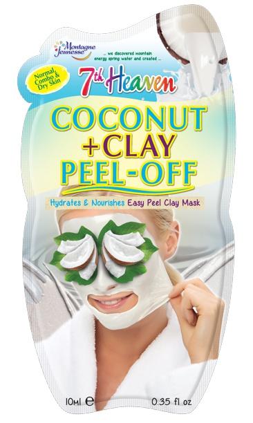 7th Heaven Coconut + Clay Peel Off