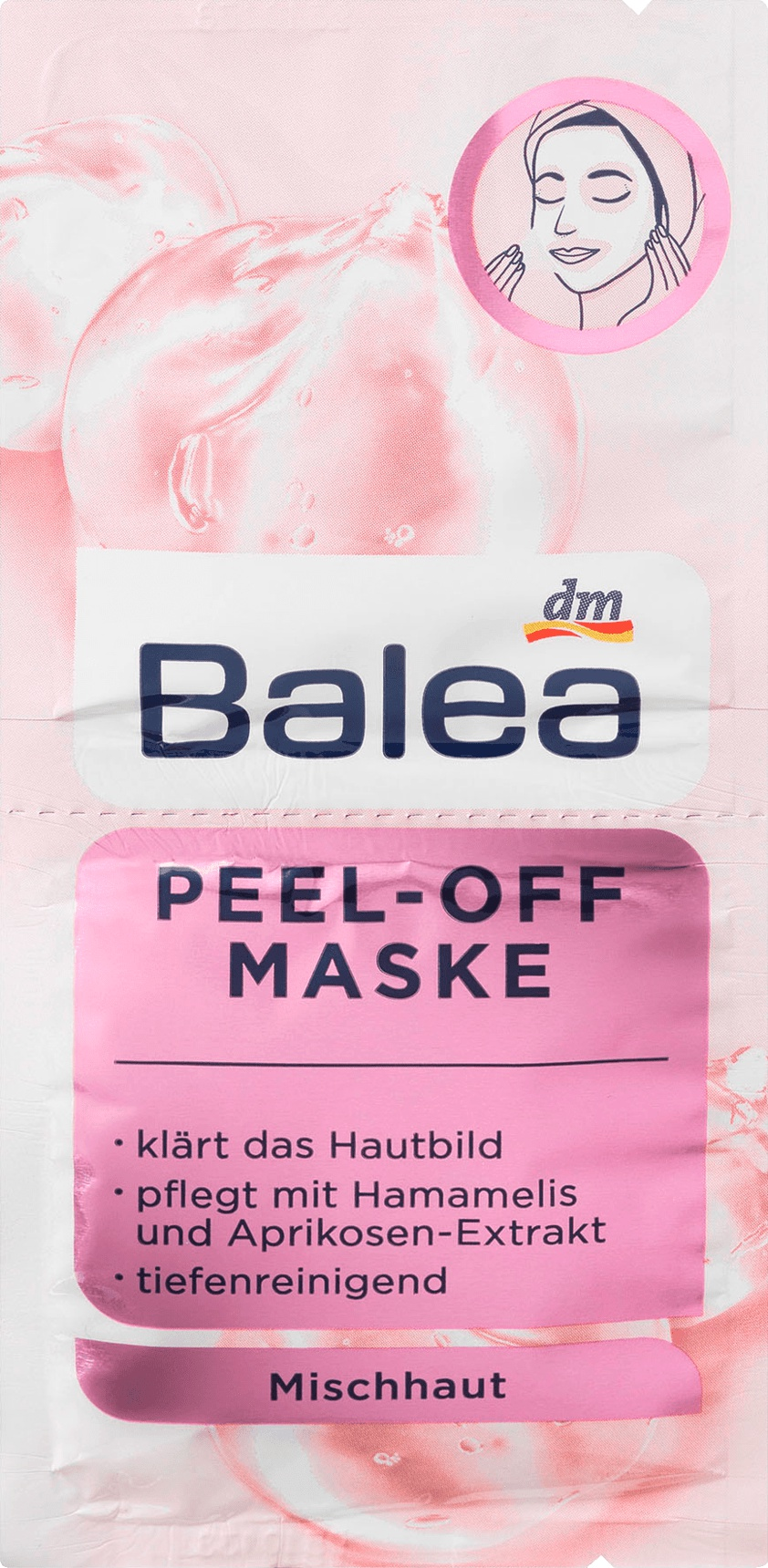 Balea DM Maske Peel-Off