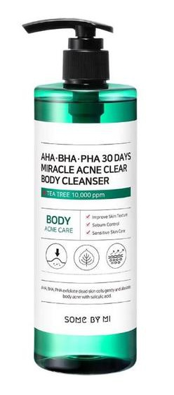 Some By Mi Miracle Acne Clear, Body Cleanser