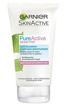 Garnier Pure Active Sensitive Anti-Blemish Soothing Moisturiser