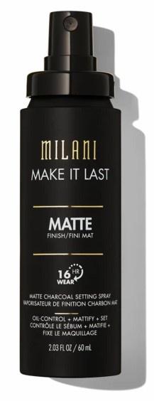 Milani Make It Last Matte Charcoal Setting Spray