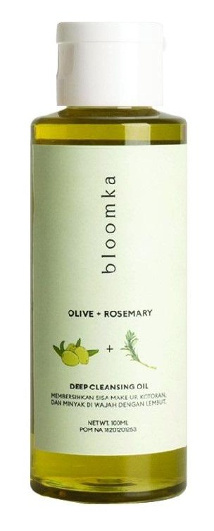 Bloomka Olive + Rosemary Deep Cleansing Oil