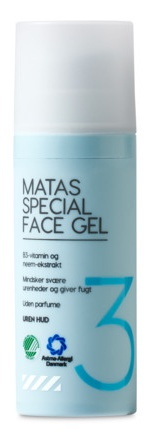 Matas Special Face Gel For Impure Skin Without Perfume