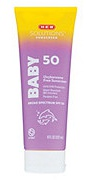 H-E-B Solutions Baby SPF 50 Oxybenzone Free Sunscreen