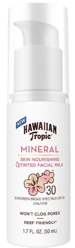 Hawaiian Tropic Mineral Skin Nourishing Tinted Facial Milk 30