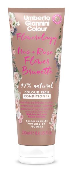 Umberto Giannini Flowerology Iris + Rose Flower Vegan Brunette Conditioner
