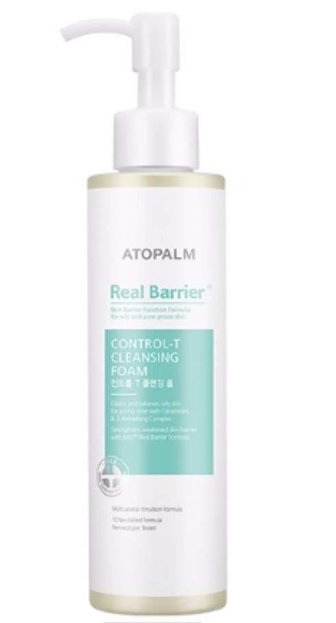 Atopalm Real Barrier Control T Cleansing Foam