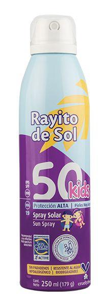 Rayito de Sol Spray Solar Fps50 Kids