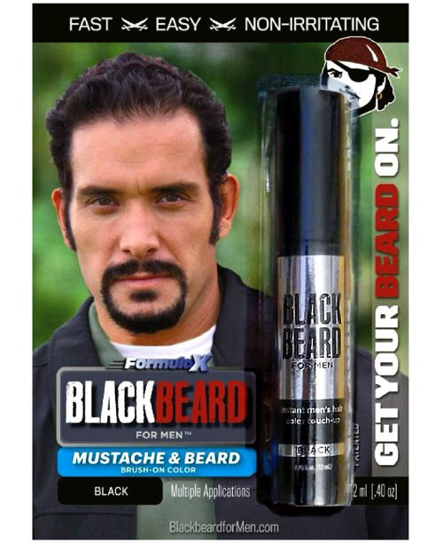 Blackbeard for Men Formula X