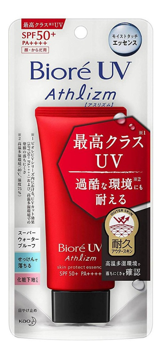 Biore Uv Athlizm Skin Protect Essence Spf50+ Pa++++