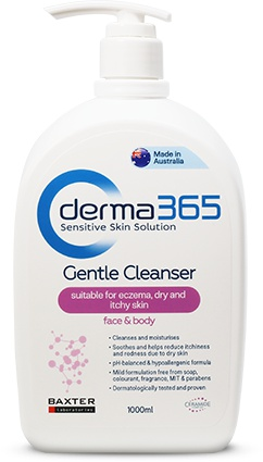 Derma365 Gentle Cleanser (Suitable For Eczema, Dry And Itchy Skin)