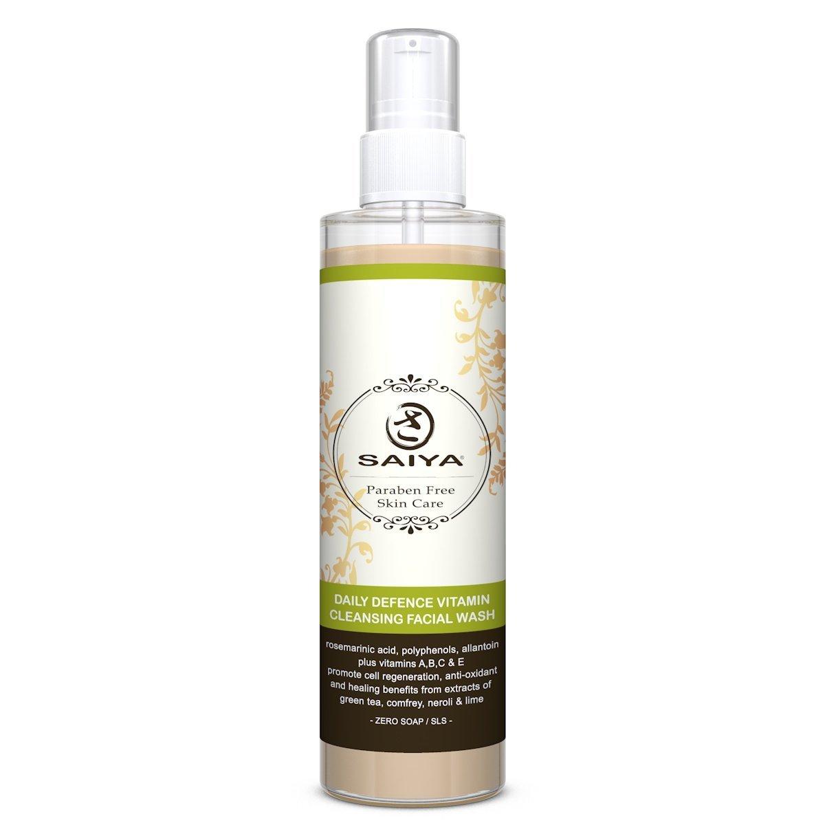 Saiya Daily Defence  Vitamin Cleansing Facial Wash