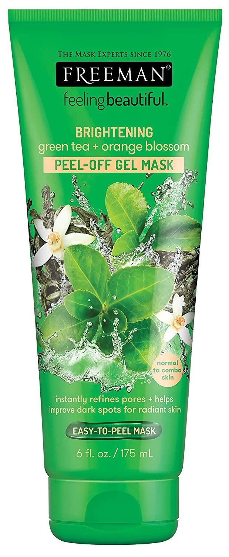 Freeman beauty Brightening Green Tea And Orange Blossom Peel Off Gel Mask
