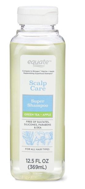Equate Scalp Care Super Shampoo - Green Tea + Apple