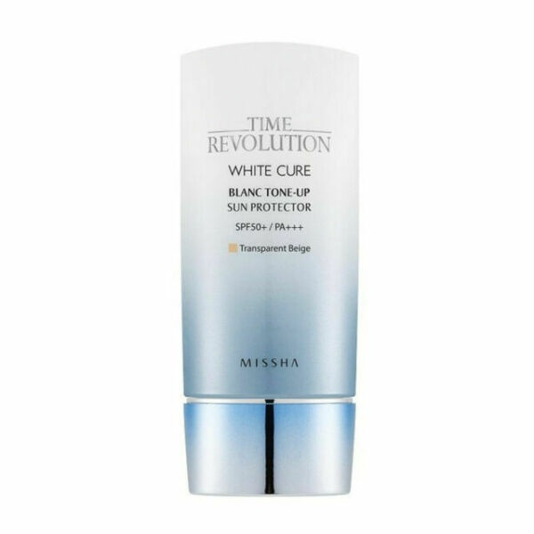 Missha Time Revolution White Cure Blanc Tone-Up Sun Protector Spf50+ / Pa+++
