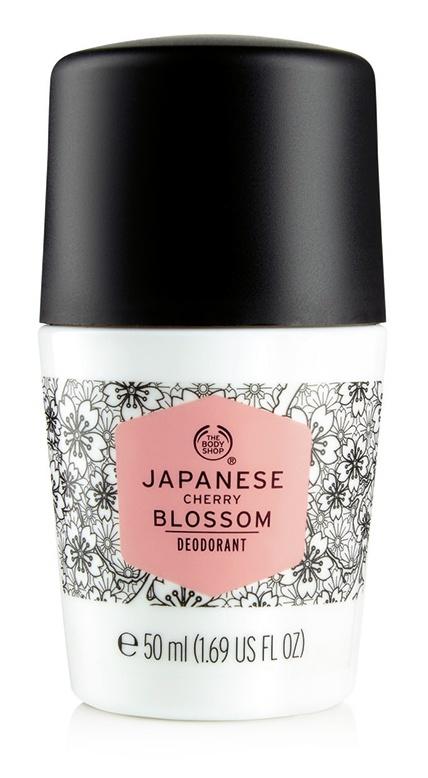 The Body Shop Japanese Cherry Blossom Deodorant Roll On
