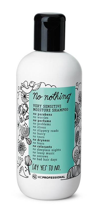 No Nothing Very Sensitive Moisture Shampoo