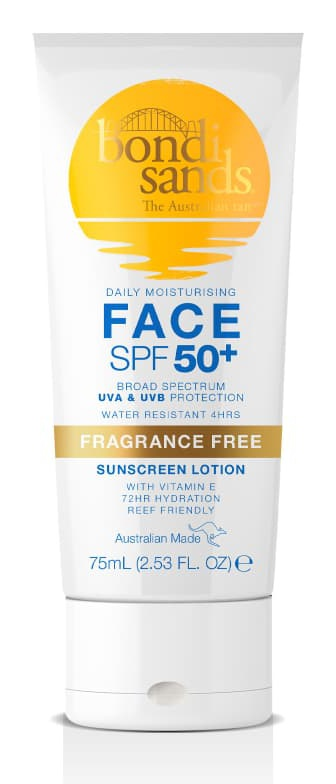 Bondi Sands Sunscreen Lotion Face Spf50+