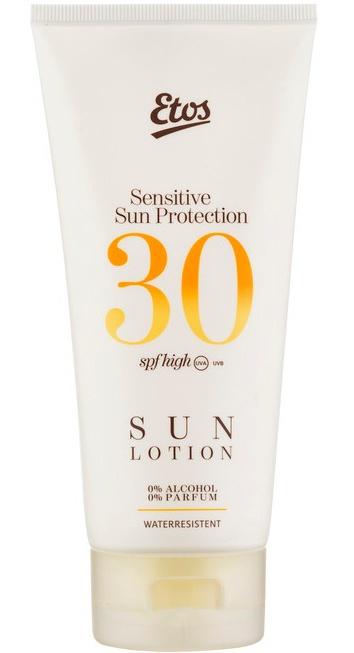 Etos Sensitive Face & Decolleté Sun Protection Cream SPF50