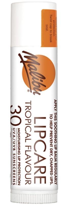 Malibu Lip Care Balm Tropical SPF 30