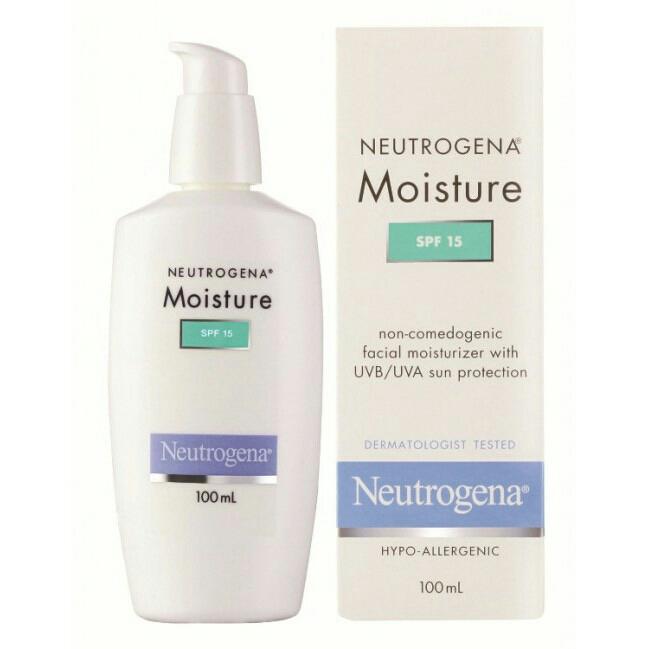 Neutrogena Moisture Spf15