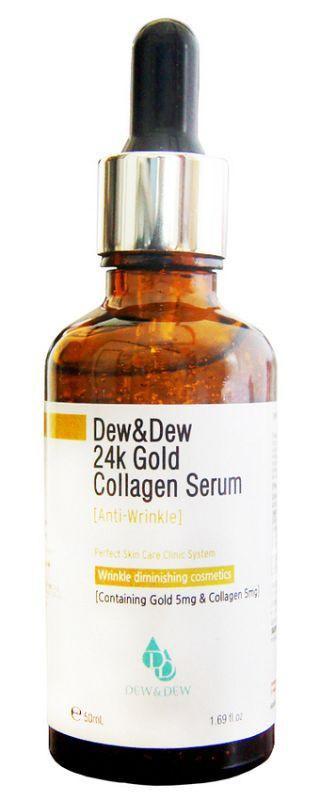 Dew and Dew 24K Gold Collagen Serum Whitening