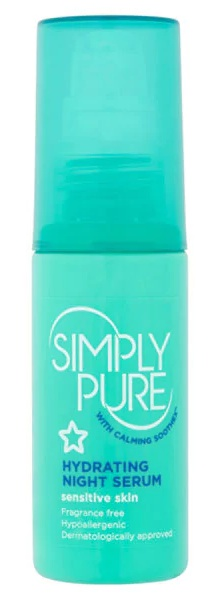 Superdrug Simply Pure Hydrating Night Serum