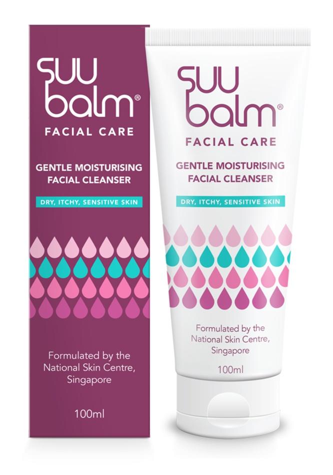 Suu Balm Gentle Moisturising Facial Cleanser