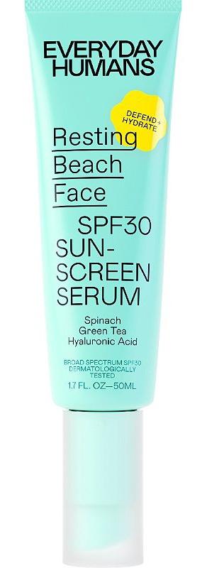 Everyday Humans Resting Beach Face Spf30 Sunscreen Serum