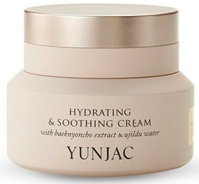 Yunjac Hydrating & Soothing Cream With Baeknyoncho Extract & Ujildu Water