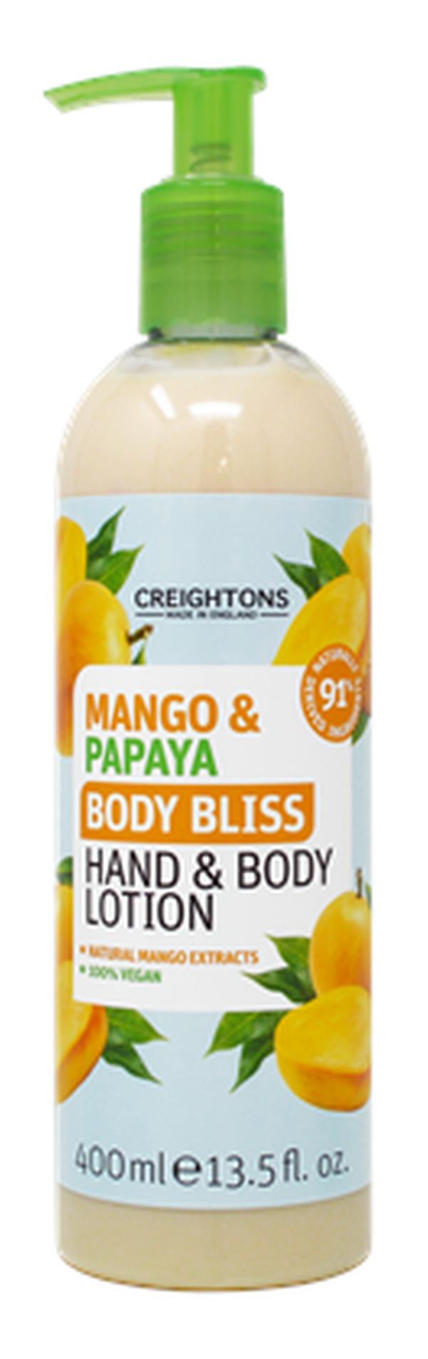 Creightons Mango & Papaya Body Bliss Hand & Body Lotion