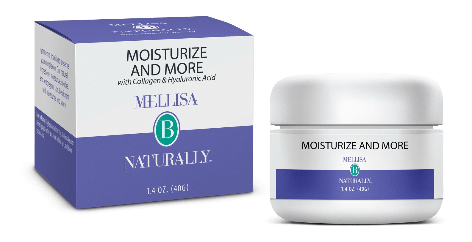 Mellisa B Naturally Moisturize And More With Collagen & Hyaluronic Acid