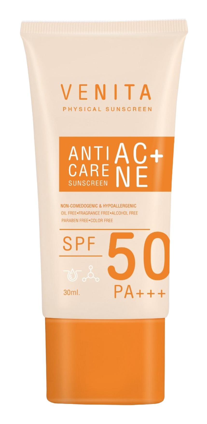 Venita Anti-Acne Care Sunscreen SPF 50 Pa+++