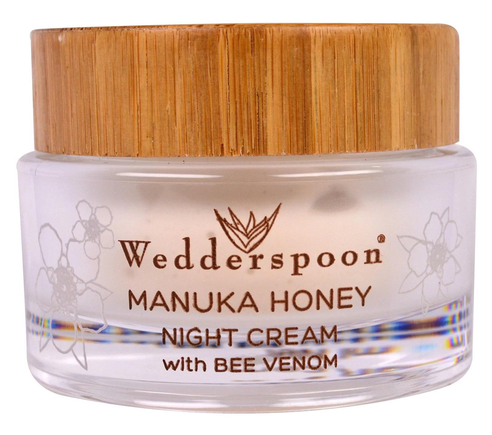 Wedderspoon Manuka Honey Night Cream With Bee Venom
