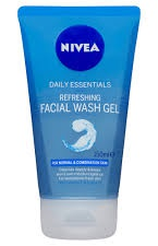 Nivea Nivea Daily Essentials Refreshing Facial Wash Gel