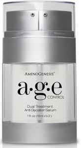 AminoGenesis Age Control Dual Treatment Anti Glycation Serum