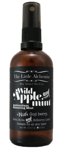 The Little Alchemist Wild Apple & Mint Antioxidant Balancing Mist