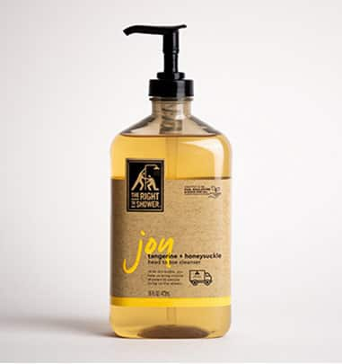 The Right To Shower Joy Body Wash
