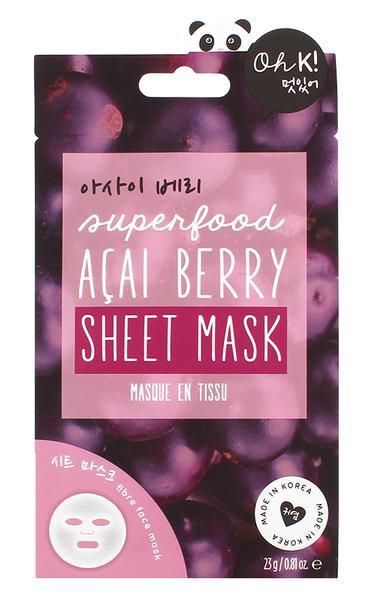 Elixer Beauty Acai Berry Mask