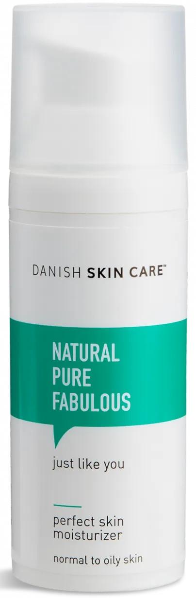 Danish Skin Care Natural Pure Fabulous Perfect Skin Moisturizer (Normal to Oily Skin Version)