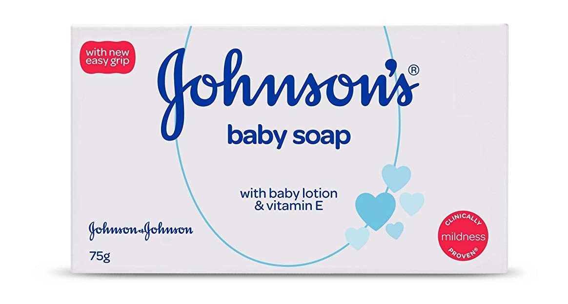jhonsons baby Soap