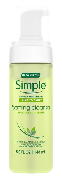 Simple Foaming Face Wash